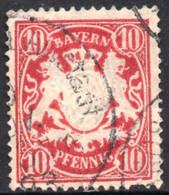1888 - YT 63 OBLITERE COTE 0.30 € - Bayern (Baviera)