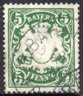 1888 - YT 62 OBLITERE COTE 0.30 € - Bayern (Baviera)