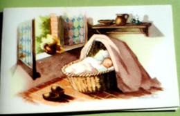 Geboortekaartje MERKSEM / Birth Card ELSJE HUYGENS  ° 1950 - Birth & Baptism