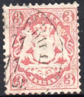 1875 - YT 32 OBLITERE COTE 4 € - Bayern (Baviera)