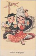 Humour Enfant Danse Valse Espagnole Ed JC - CPA 9x14 TBE Neuve - Humorkaarten