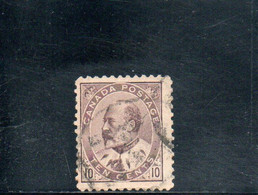 CANADA 1903-9 O - Used Stamps