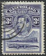 Basutoland. 1938 KGVI. 3d Used SG22 - 1933-1964 Crown Colony