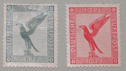 """Deutsches Reich 1926 1927  """"Reichsadler"""" Der Flugpost MI378-379 - Unused Stamps"""
