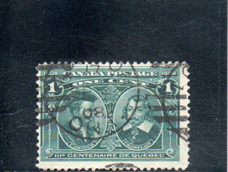 CANADA 1908 O - Used Stamps