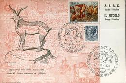 66757 Italia, Special Postmark 1970 Trieste, Onoranze Pier Paolo Vergerio Il Vecchio - Altri