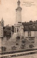 CHASSENEUIL DU POITOU LE MONUMENT AUX MORTS TBE - Otros Municipios