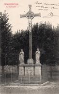 CHASSENEUIL DU POITOU LE CALVAIRE 1910 TBE - Otros Municipios