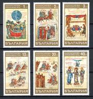 Bulgarie   Y&T   1661 - 1666   XX    ---    MNH  --  Parfait état. - Ungebraucht