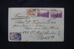 ARGENTINE - Enveloppe En Recommandé De Buenos Aires Pour La France En 1938 - L 108017 - Covers & Documents