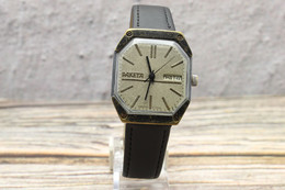 Cosmic Gift For Him! Futuristic Style. RAKETA Gray Mens Watch USSR. Serviced! Vintage Mens Wrist Watch Rocket. Bonus. - Orologi Antichi