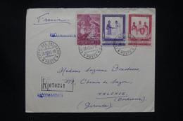VATICAN - Enveloppe En Recommandé Pour La France En 1965  - L 108026 - Storia Postale