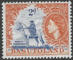 Basutoland. 1954-58 QEII. 2d MH SG45 - 1933-1964 Crown Colony