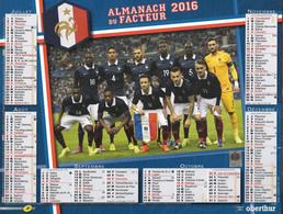 CALENDRIER 2016  FOOTBALL EQUIPE DE FRANCE - Formato Grande : 2001-...