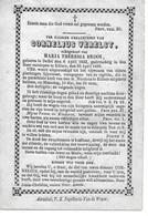 Verelst Cornelius (duffel 1833 -rillaar 1869) - Religion & Esotérisme