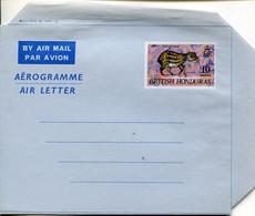 66785 British Honduras, Aerogramme  Air Letter 10c. Showing A Gibnut - British Honduras (...-1970)