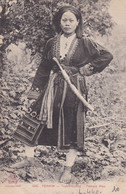 TONKIN, TUYEN-QUANG, FEMME MAN. INDO-CHINE FRANÇAIS CARTE POSTALE, CIRCA 1900's, NON CIRCULEE.- LILHU - Vietnam