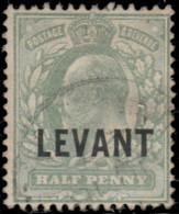 Levant, Bureaux Anglais 1905. ~ YT 12 (par 2) - ½ Edouard VII - Otros - Asia