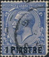 Levant, Bureaux Anglais 1913. ~ YT 44 (par 10) - 1 Pi / 2½ George V - Otros - Asia
