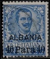 Levant, Bureaux Italiens 1902. ~ YT 20 (par 2) - 40 Pa  / 25 Victor-Emmanuel - Otros - Asia