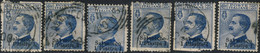 """Levant, Bureaux Italiens 1909. ~ YT 86 (par 6) - 1 Pi.  / 25 """"Salonicco"""" - Otros - Asia"""