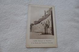 Belle Carte ...comite National Du Monument A La Gloire De L'infanterie Française. Maquette Du 1er Prix.. - Oorlogsmonumenten
