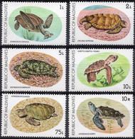 MALDIVES :1980: Y.798-803*** Postfris/neufs/MNH : REPTILES,SCHILDPAD,TORTUE,TURTLE. - Maldive (1965-...)