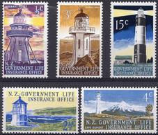 NEW-ZEALAND :1969: Y.S131-35*** Postfris/neufs/MNH : VUURTOREN,PHARE,LIGHTHOUSE. - Officials