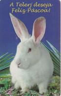 BRAZIL(Telerj) - Rabbit, Happy Easter 1999, 03/99, Used - Conigli