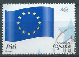 ESPAGNE SPANIEN SPAIN ESPAÑA 1999 EUROPEAN UNION FLAG USED ED 3632 YT 3200 MI 3466 SG 3566 SC 2995A - 1991-00 Usati