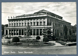 °°° Cartolina - Reggio Emilia Teatro Municipale Viaggiata (l) °°° - Reggio Emilia