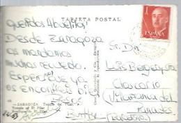 MATASELLOS  1963 AGENCIA POSTAL  LOS MONEGROS - 1961-70 Storia Postale