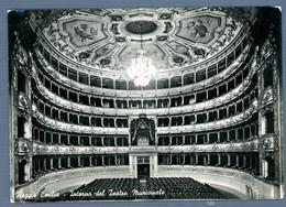 °°° Cartolina - Reggio Emilia Interno Del Teatro Municipale Viaggiata (l) °°° - Reggio Emilia