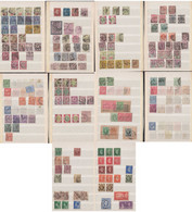 Great Britain Ca 1860-1945 Collection Perfin Used - Collections