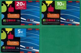 TELECOM- MTVmobile - Schede GSM, Prepagate & Ricariche