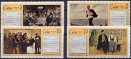 CUBA :1970: Y.1399-1405*** Postfris/neufs/MNH : Centenary Of The Birth Of  Vl. LENIN. - Lenin