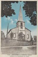 88 - Girecourt Sur Durbion : L'Eglise Et Le Monument Aux Morts - CPSM écrite - Sonstige Gemeinden
