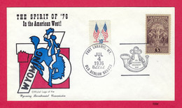 American Bicentennial & The Spirit Of '76 - Ft. Laramie, Wyoming [#5204] - Event Covers