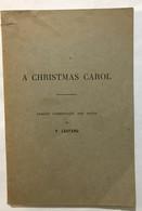 A Christmas Carol - Non Classificati
