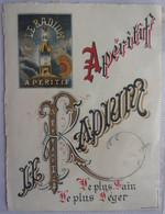 Etiquettes  Apéritif LE RADIUM - Alcolici