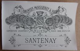 Etiquettes MARQUISETTE Distillerie Lyon - Alcolici