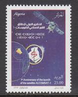 2018 Algeria Algerie Satellite  Complete Set Of 1 MNH - Algeria (1962-...)