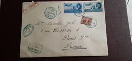 Anciens Timbres Egypte Sur Lettre - 1915-1921 British Protectorate