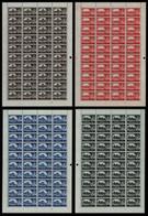Großbritannien 1959-1968 - Mi-Nr. 335-338 II ** - MNH - Bradbury - SG 595-598 A - Unused Stamps