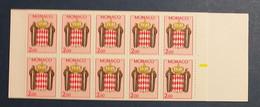 Monaco, Carnet De 10 Timbres Neufs, 1988 - Neufs