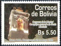 Bolivia 2018 **  CEFIBOL 2344 (2009 #2014) .Liberty Bell Enabled Bolivian Post Office. 785 Known - Bolivia