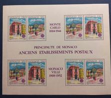 Monaco, 3 Blocs Neufs 1990 - Neufs