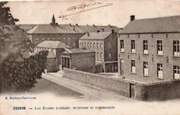 Couvin  Les écoles Normale,moyenne Et Communale Voyagé En 1907 - Philippeville