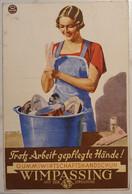 Österreich 1937, Werbe Postkarte WIMPASSING Hygiene Ausstellung WIEN - Covers & Documents