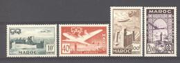 Maroc  -  Avion  :  Yv   85-88  ** - Airmail